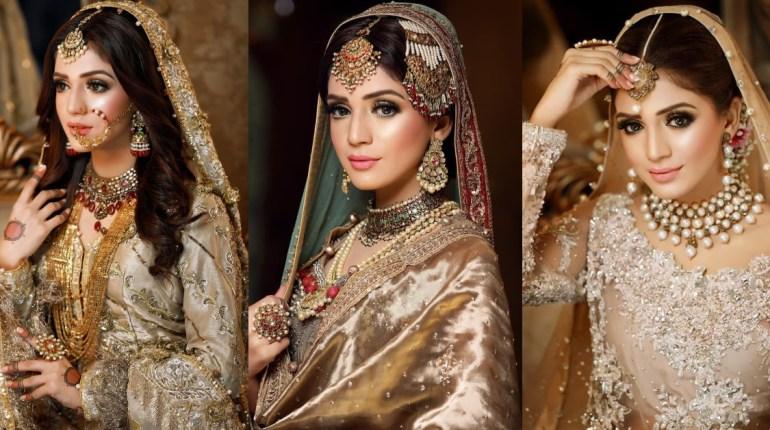 Laiba Khan Shoot In Latest Pakistani Bridal Dress