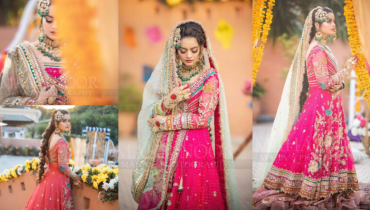 Minal Khan Latest Bridal Photoshoot for LA Fiore