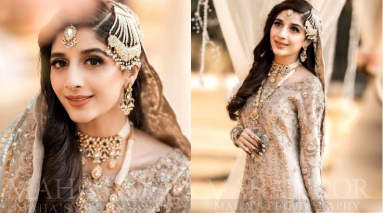 Mawra Hocane Looks Royal In Latest Pakistani Birdal Dress