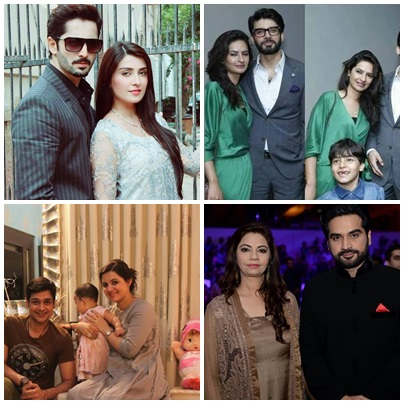 Pakistani Famous Drama Actors Who Keep Their Wives With Them