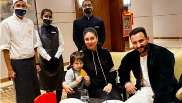 Taimur Enjoys A Culinary Session With Kareena And Saif