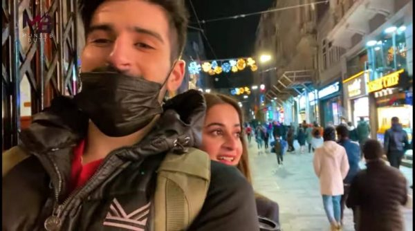Muneeb Butt has shared a vlog from Turkey trip with Aiman Khan