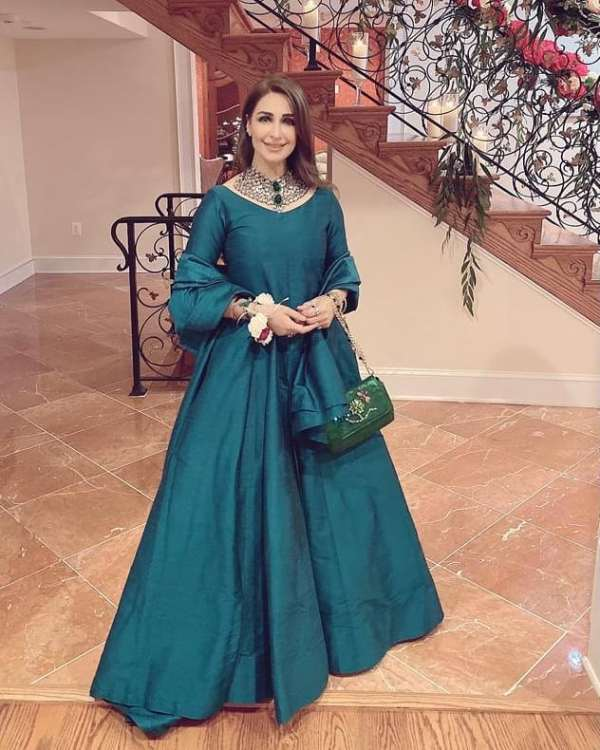 Newest Fashionable Asian Dresses of Reema Khan