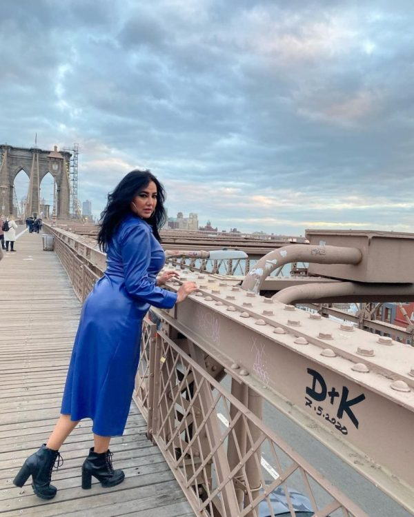 Ayesha Gul Giving Main Vacay Objectives In NYC Photos