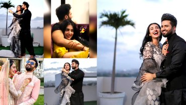 Sarah Khan And Falak Shabir Romantic Pictures