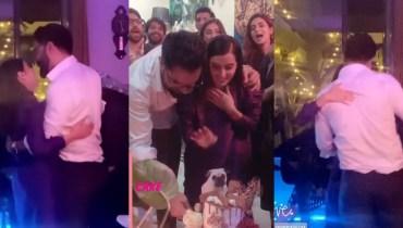 Yasir Hussain Dance Video With His Wife Iqra Aziz