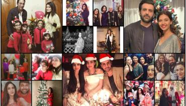 Famous Pakistani Celebrities Christmas Celebration Pictures