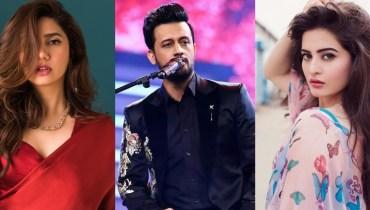 Mahira Khan, Atif Aslam, Aiman Khan make it to Forbes