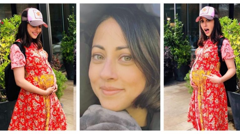 Lovely snaps of Ainy Jafri during her pregnancy