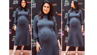 Bollywood diva Kareena Kapoor epitomizes the maternity trend