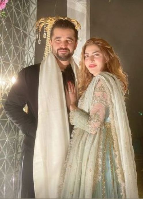 Naimal, Hamza Ali Abbasi Stunning Clicks