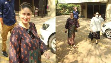 Kareena Kapoor Khan keeps her pregnancy fashion on point