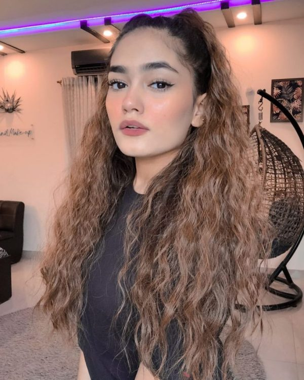Highly Edited Filtered pictures of TikTok star Laiba Shah