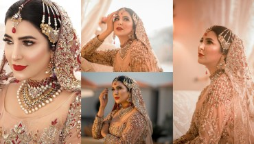 Areeba Habib Latest Bridal Photoshoot