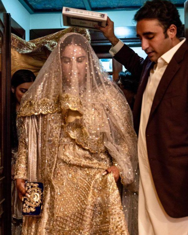 Bakhtawar Bhutto's Nikkah Ceremony Pictures