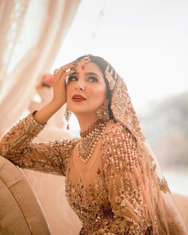 Areeba Habib Latest Bridal Photoshoot