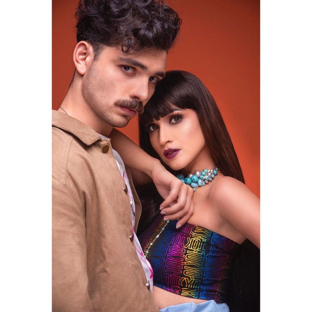 Bold And Hot Photoshoot Of Faryal Mehmood
