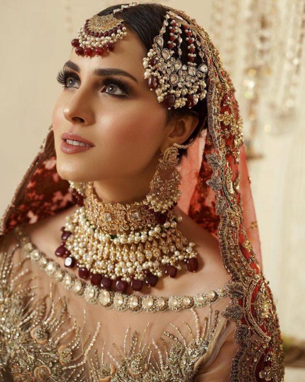 Nimra Khan Looks Gorgeous In Latest Bridal Shoot