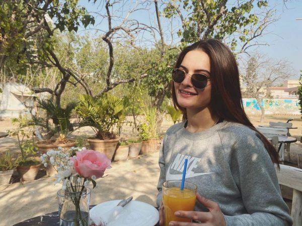 Minal Khan Favorite Daily Dose Of Vitamin A Ahsan Ikram