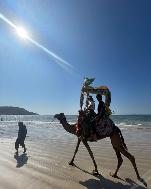 Minal Khan with fiance Ahsan Moshin Having Fun At Beach