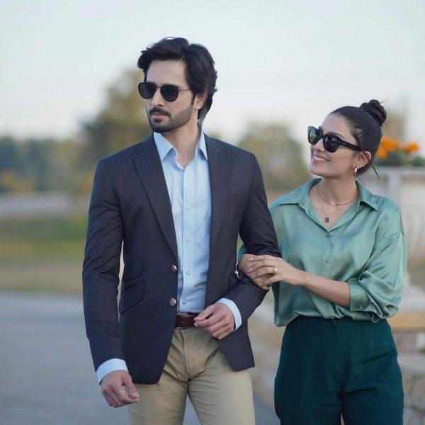 Couple Shoot Of The Final Duo Ayeza Khan And Danish Taimoor