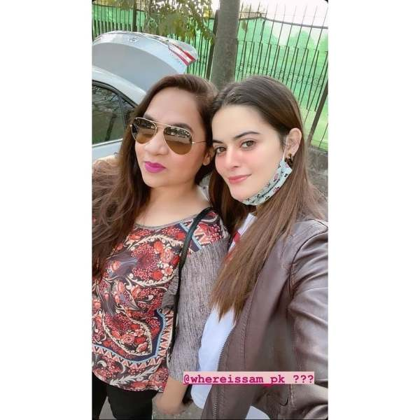 Aiman Minal and Muneeb Butt in Lahore for HBCW21