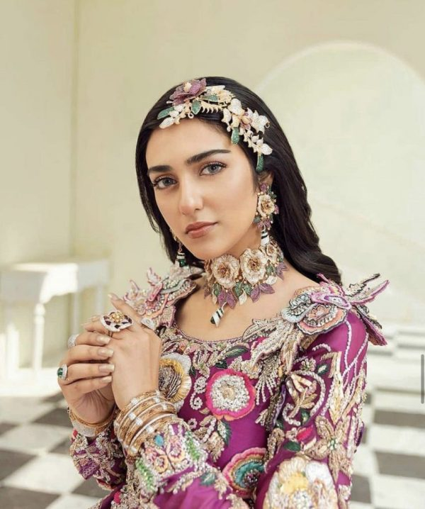 Sarah Khan's Latest Photoshoot For Jewellery Brand