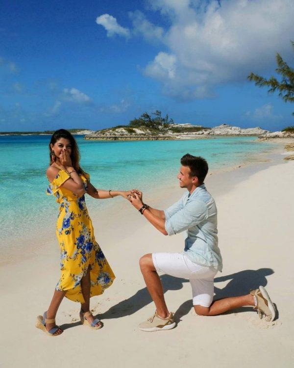 Zoya Nasir Got Engaged To Betzmann Romantic Pictures