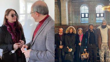 Reema Khan gets warm welcome from Ertuğrul team in Istanbul