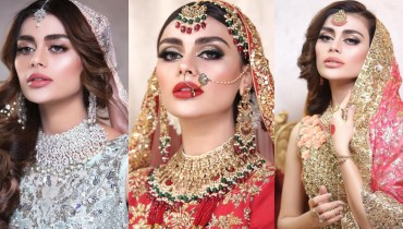 Sadaf Kanwal Pulling Off Bridal Appears Like A Professional