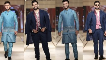 Muneeb Butt And Shahveer Jafri Walked For Jeremyn Street