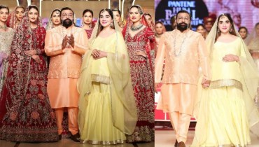 Ali Xeeshan Walked With His Pregnant Wife At BCW Day3