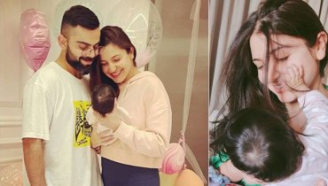 Anushka Sharma all smiles with newborn daughter