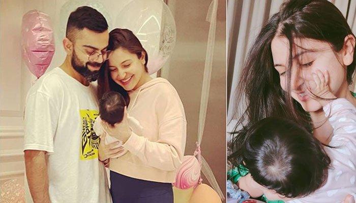 Anushka Sharma all smiles with newborn daughter