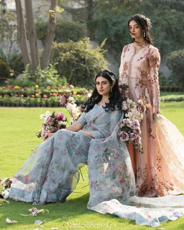 Sarah and Noor Zafar Khan Spell Eastern Glam in a Photoshoot