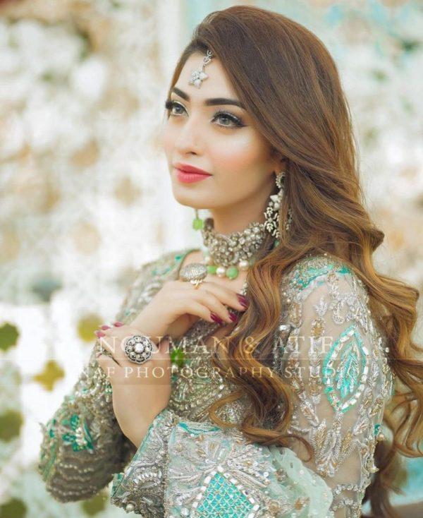 Actress Nawal Saeed Latest Shoot In Pakistani Bridal Dress