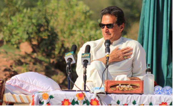 PM Imran Khan Shares Photo of Sons After Attending Prayers