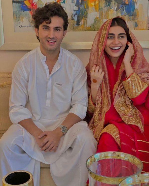Syra and Shahroz Sabzwari resume working on upcoming movie