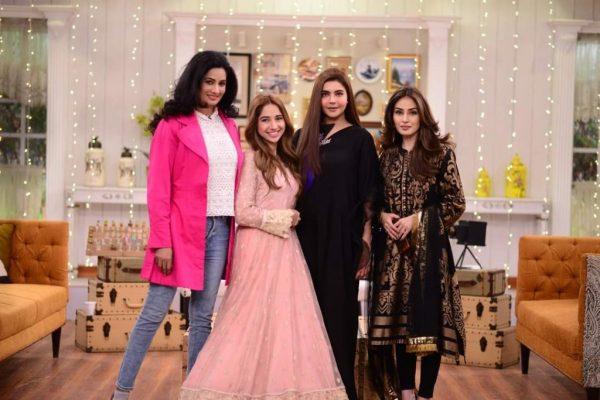 Sabeena Farooq and Raza Talish Dated Each other