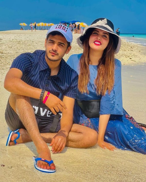 TikTok Star Zulqarnain Sikandar & Kanwal Aftab in Maldives