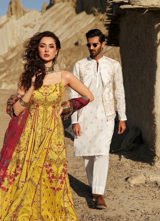 Hania Amir Now With Hasnain Lehri Sizzle In Latest Photoshoot