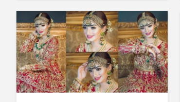 Recent Bridal Shoot Featuring Nawal Saeed