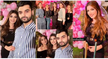 Actress Kinza Hashmi Birthday Bash With Celebrities