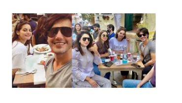 Minal Khan And Ahsan Mohsin Ikram Brunch Date Together