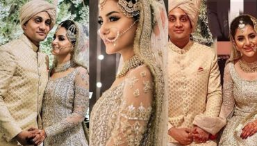 Sohai Ali Abro Ties The Knot With Shehzar Mohammad