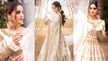 Aiman Khan is Looking Stunning in Her Latest Bridal Photoshoot