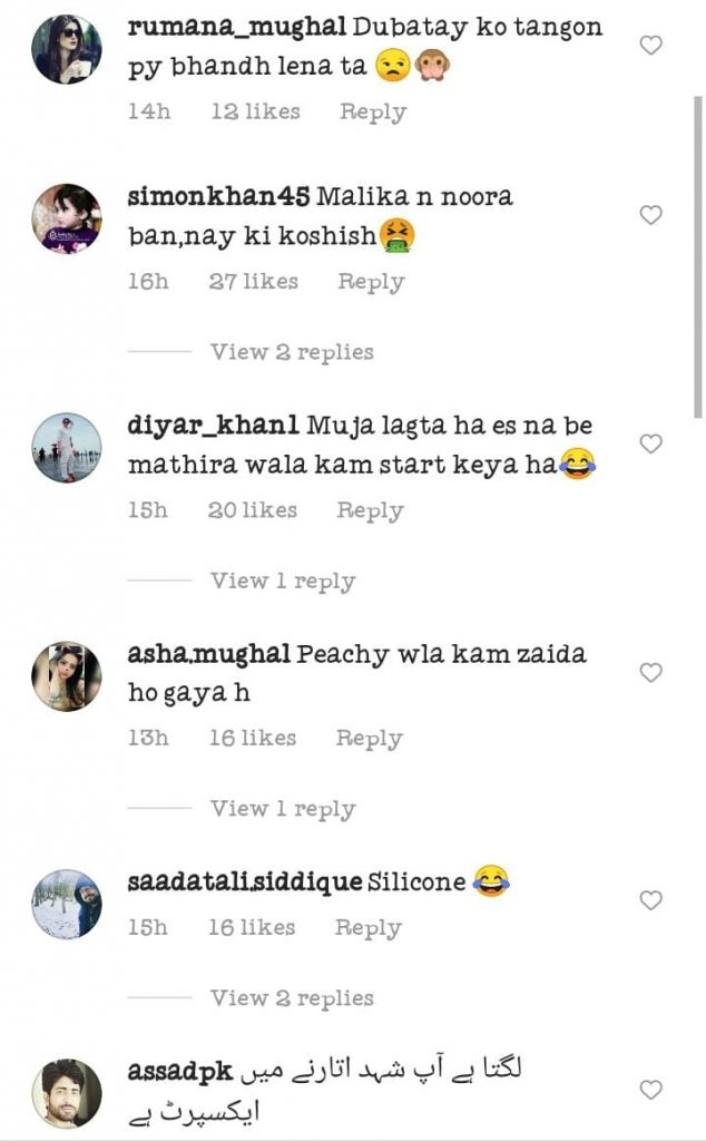Netizens Criticism On Sana Fakhar Latest video
