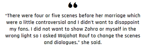 Sarah Khan Refused to Do Bold Scenes in Raqs-e-Bismil