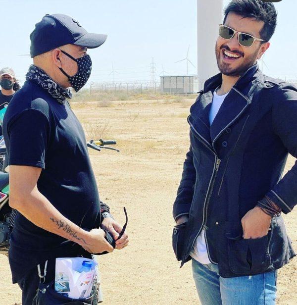 Feroze Khan Shares Glimpses Of Secret Project With Alizeh