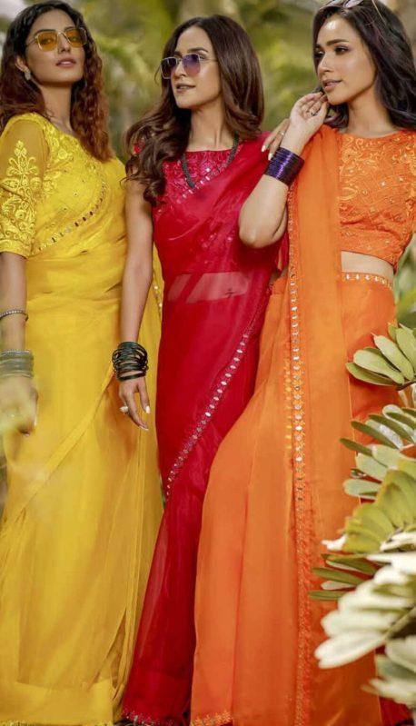 Anoushay Abbasi Looks Hot in Saris